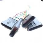 PAS3170 Разъем SuperSeaL 6-ти контактный, герметичный жгута ЭСУД, ГАЗ, УАЗ, жгута форсунок  oem: AMP TE 282108-1