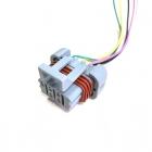 PAS3193 Разъем(папа) 5-ти контактный, герметичный для жгута форсунок и зажигания ВАЗ  oem: Delphi 12052600