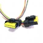 PAU4222 Разъем 6-ти контактный, герметичный для датчика расхода воздуха (Siemens 20.3855-10) ГАЗ (двигатель 405) оем: FCI 211PC062S1049