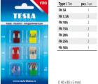 F113 Набор предохранителей TESLA (7,5А, 10А, 15А, 20А, 25А, 30А)