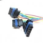 PAU4288 Разъем датчика массового расхода воздуха ВАЗ, 5-ти контактный, герметичный oem: Bosch1928403813