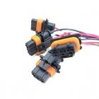 PAK58 Разъем 3-х контактный герметичный для катушки зажигания ВАЗ 2110 (1,6)