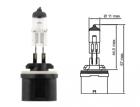 Лампа галогенная Tesla (H27W/1, 12V, 27 W, PG 13)