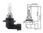 B18301 Лампа галогенная Tesla (HB3, 12 V, 60 W, P 20 d)