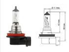 Лампа галогенная Tesla (H11, 12V, 55 W, PGJ 19-2)+50%
