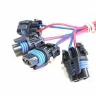 PAU4199 Разъем автомобильный для ламп H27, 2-х контактный, герметичный оем: Delphi 12020599