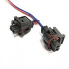 PA1264 Разъем 2-х контактный, герметичный, датчика температуры ЗМЗ 405 oem: TE 9360591