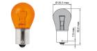 B52701 Лампа Tesla (PR21/5W, 12V, BAW 15 d)