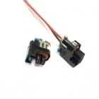 PA1282 Разъем 2-х контактный топливных форсунок GM, Daewoo Lanos, Aveo oem: Delphi 15411633, 15326181