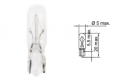 Лампа Tesla (W2,3W, 12 V, W 2x4,6 d)