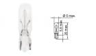 B62101 Лампа Tesla (W2,3W, 12 V, W 2x4,6 d)