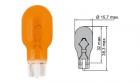 B66201 Лампа Tesla (WY16W, 12V, W 2, 1x9, 5 d)