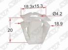 Y1192 Автокрепеж клипса крепления бампера/защиты двигателя VAG, Audi oem: 8K0821213A