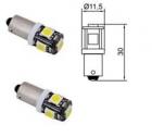 B94101 Лампа Tesla (LED T4W CB, 12V,BA9s) комплект 2 шт.