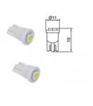 B95211 Лампа Tesla (LED T10 CB,12V,W2,1x9,5d) комплект 2 шт.