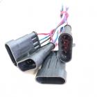 PAS3168 Разъем(мама) датчика уровня топлива ВАЗ SuperSeaL 4-х контактный, герметичный oem: AMP TE 282106-1