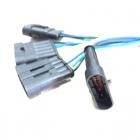 PAS3169 Разъем(мама) SuperSeaL 5-ти контактный, герметичный жгута форсунок ГАЗ, УАЗ oem: AMP TE 282107
