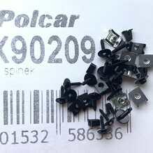 Polcar RX90209 комплект клипс защиты двигателя BMW 3 E90 E91 E92 E93
